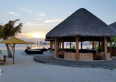 Sunset Malediven