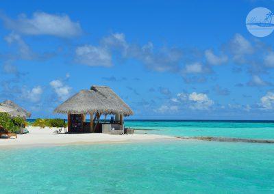 Hütte Malediven