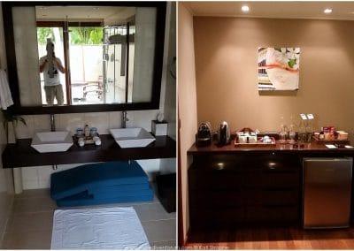 Veligandu Bad und Küche