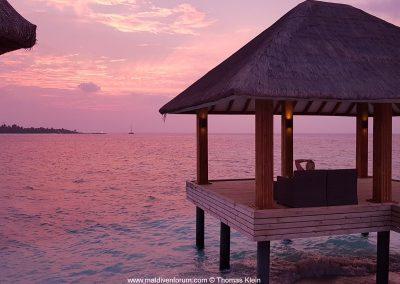 Kudafushi Sonnenuntergang