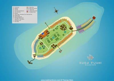 Kudafushi Inselplan