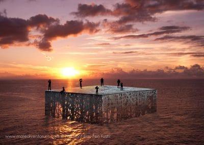 Fairmont Sirru Fen Fushi Coralarium by Jason_decaires_taylor