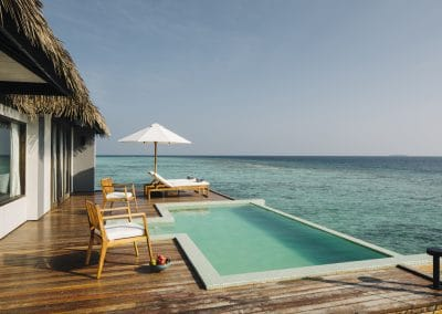 Noku Maldives Water Sunset Pool Villas
