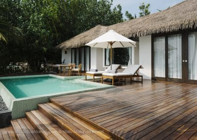 Noku Maldives Beach Pool Villas