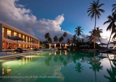 Park Hyatt Maldives Hadahaa Poolside