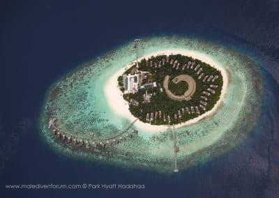 Park Hyatt Maldives Hadahaa Aerial