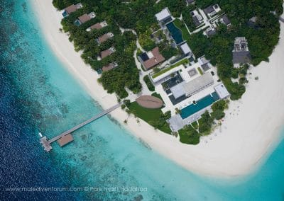 Park Hyatt Maldives Hadahaa Island Aerial