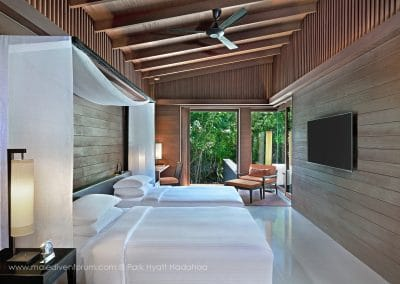 Park Hyatt Maldives Hadahaa Park Pool Villa Twin Room