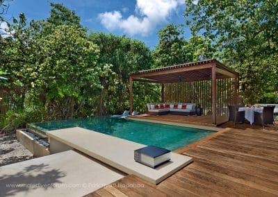Park Hyatt Maldives Hadahaa Park Pool Villa Deck