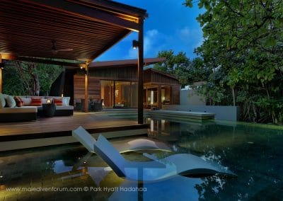 Park Hyatt Maldives Hadahaa Pool Villa Outdoor