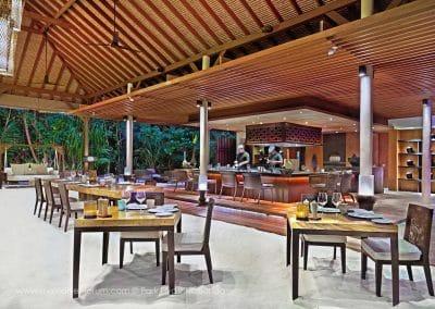 Park Hyatt Maldives Hadahaa The Island Grill Corner