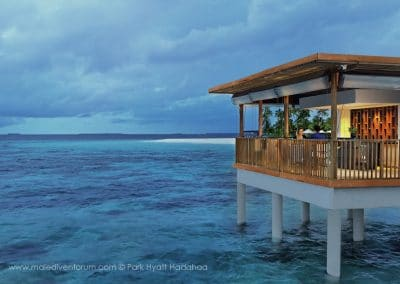Park Hyatt Maldives Hadahaa The Drift Evening
