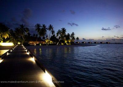 Park Hyatt Maldives Hadahaa Arrival Jetty
