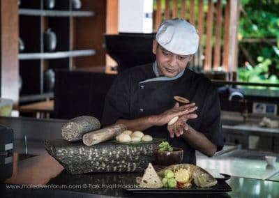 Park Hyatt Maldives Hadahaa Cooking
