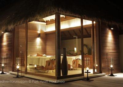 Park Hyatt Maldives Hadahaa Spa-Villa
