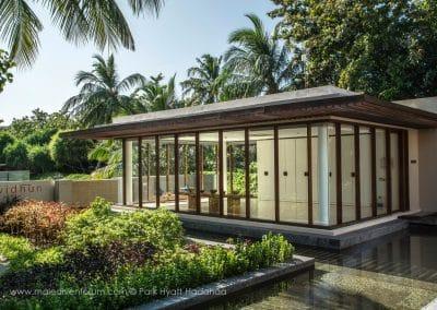 Park Hyatt Maldives Hadahaa Yoga-Pavilion