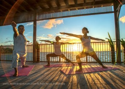 Park Hyatt Maldives Hadahaa Sunrise-Yoga