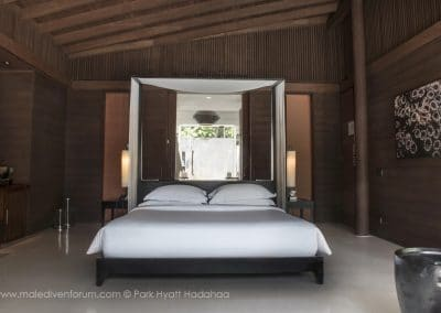 Park Hyatt Maldives Hadahaa Pool Villa Bedroom