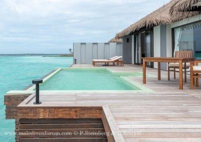 Terrasse Water Villa Noku Maldives