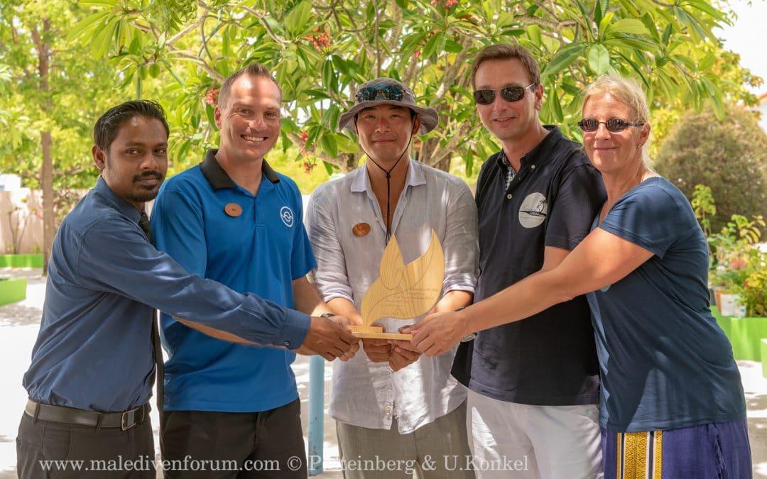 Integration der Noonu Atoll Schule auf Manadhoo in das Coral Project auf Noku