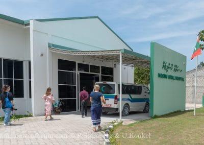 Noonu Atoll Krankenhaus Manadhoo