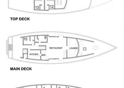 MV Eco Blue Deckplan