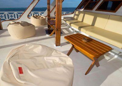 MV Eco Blue unteres Deck
